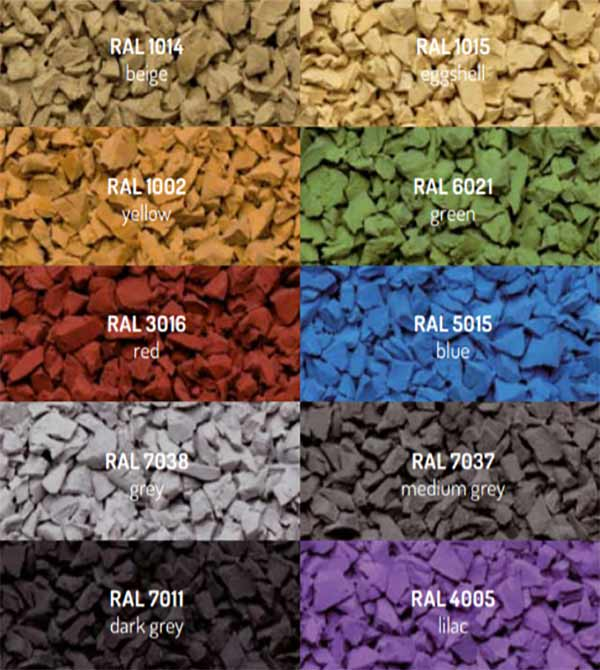 epdm colour range